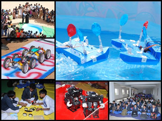 Bangalore City Rounds of Robotics Olympiad 2014