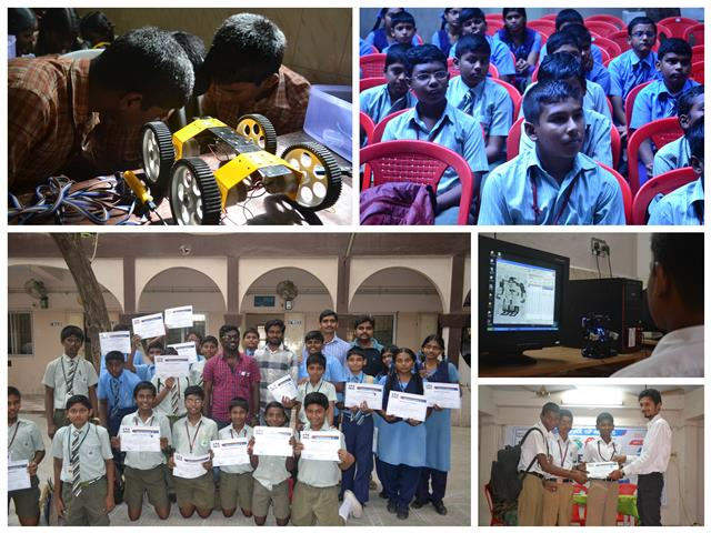 Chennai City Rounds of Robotics Olympiad 2014
