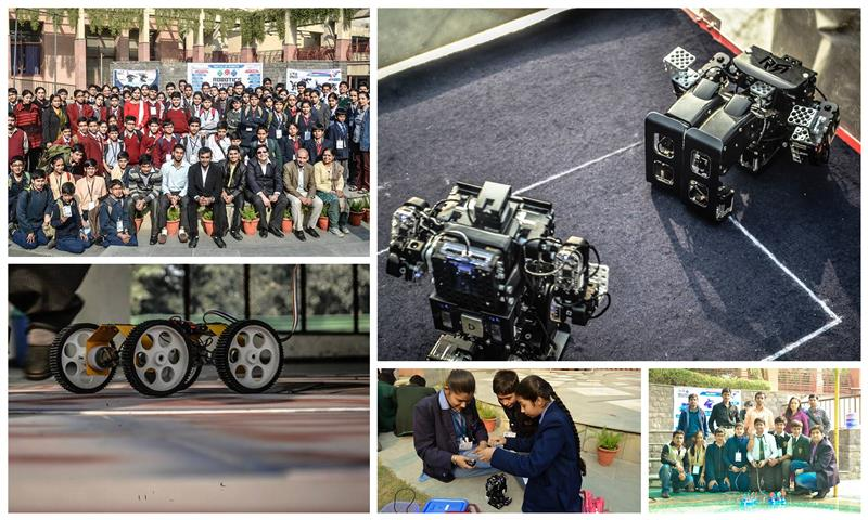 Delhi City Rounds of Robotics Olympiad 2014