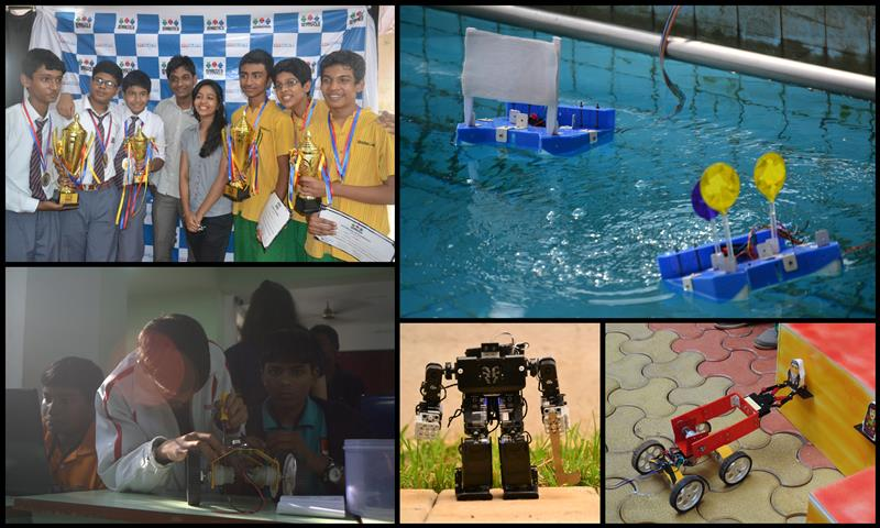 Grand Finale of Robotics Olympiad 2014 - Events