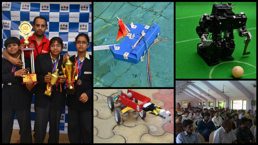 Grand Finale of Robotics Olympiad 2014